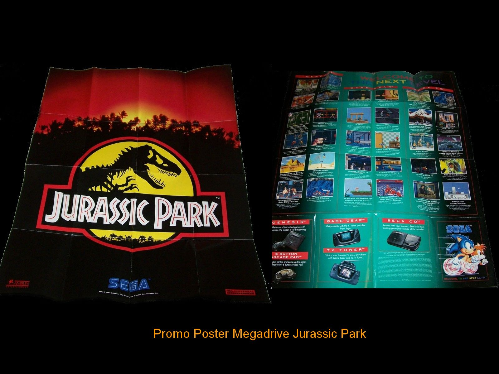 Les posters Megadrive 411574PosterMDJurassicParkFinal
