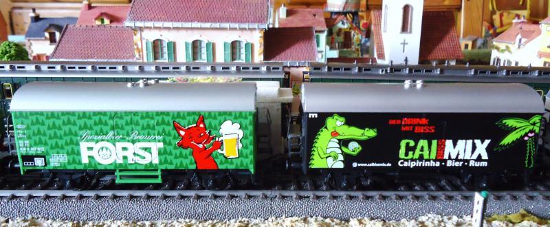 Wagons frigorifiques Märklin (le renard, le croco et l' alsacienne) 412086DSC02713