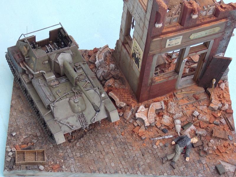 SU 76 M Tamiya et ruine Verlinden 1/35 - Page 7 413851DSCN4452