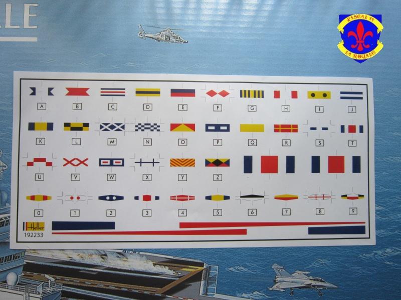 Porte avions Charles De Gaulle au 1/400 d'Heller 416384IMG25181