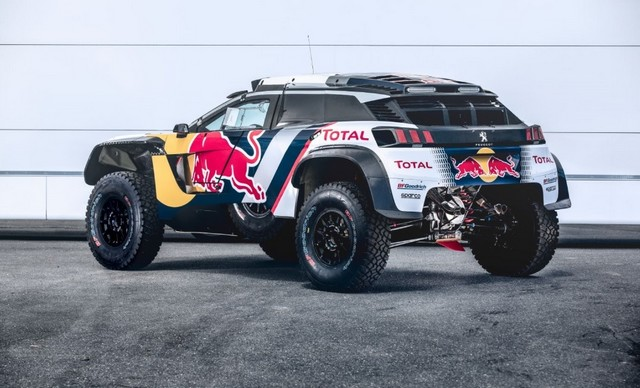 « Maximum Attact » Pour Peugeot, Avec Le Lancement De La 3008DKR MAXI 419029DKR20180071