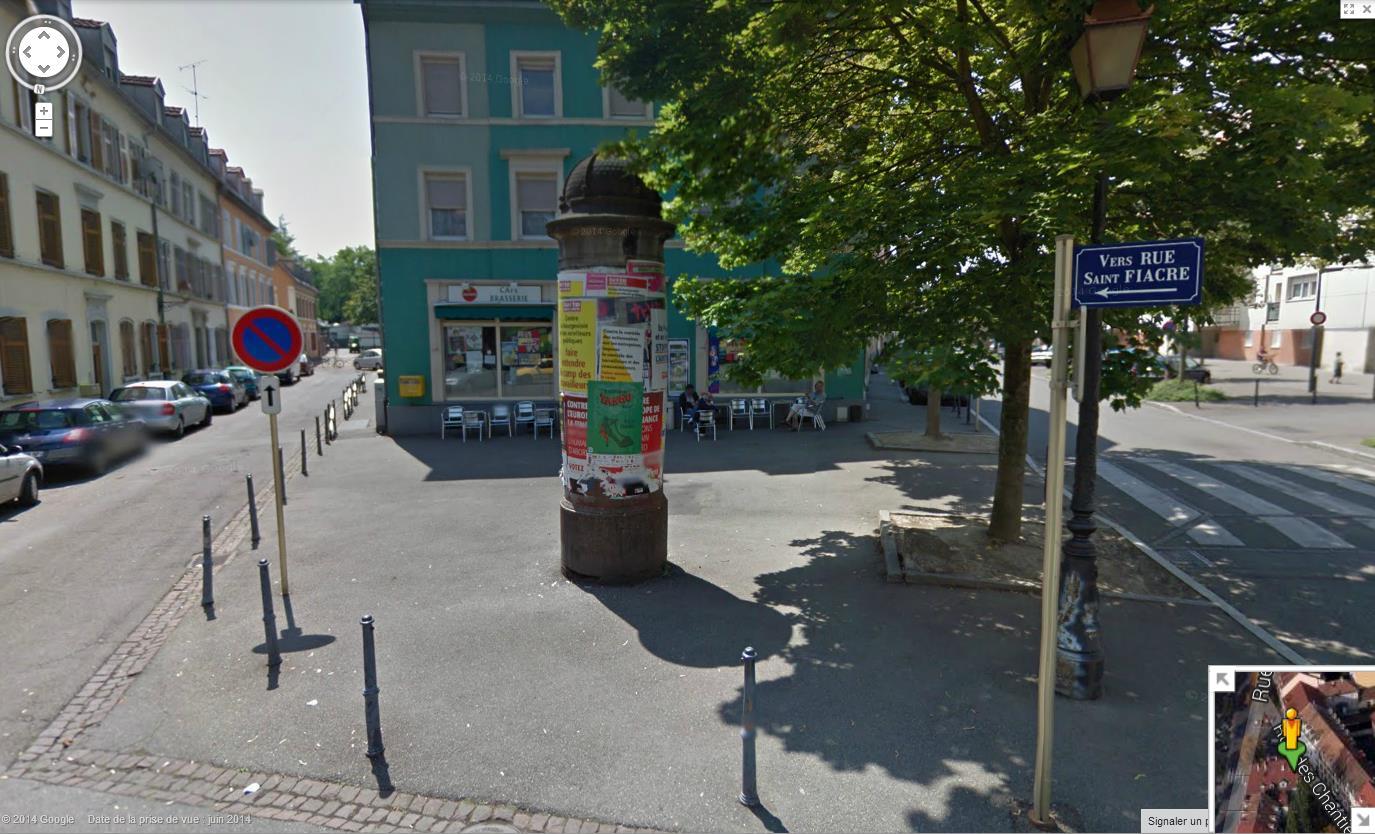Les colonnes Morris en France 421956colonnemorrisMulhouse9