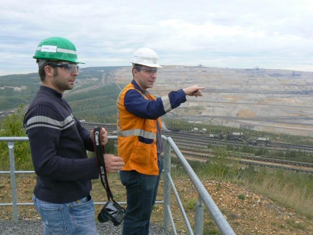 Visite privée de l'une des plus grandes mines du monde 424265P1180447