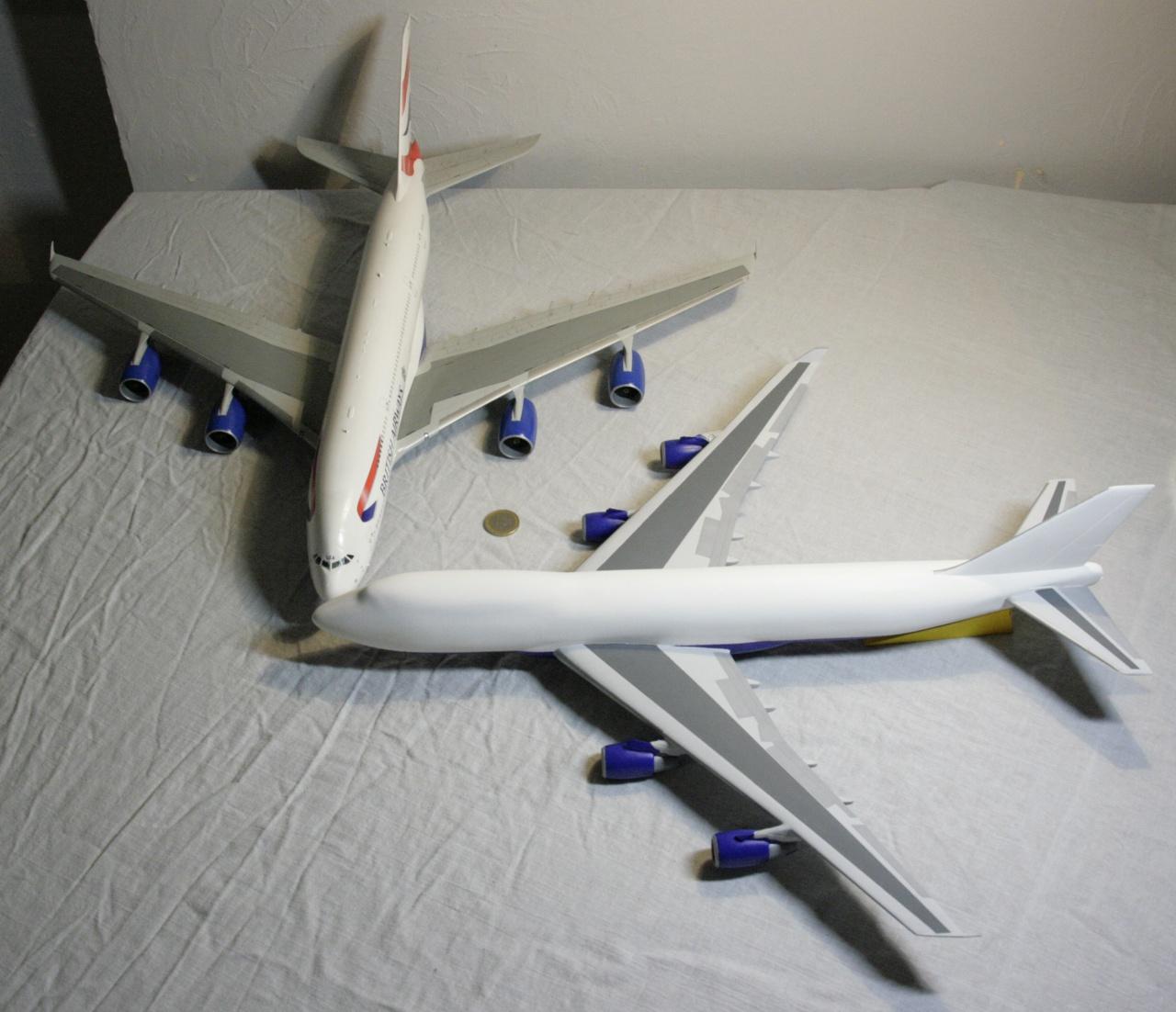 Boeing 747-4F British Airways revell 1/144 424820MG1033