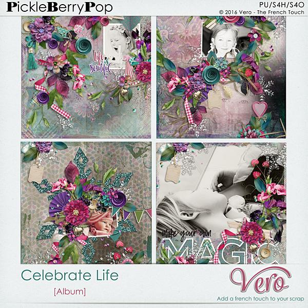 Véro - MAJ 02/03/17 - Spring has sprung ...  - $1 per pack  - Page 10 428417Verocelebratelifealbumpv