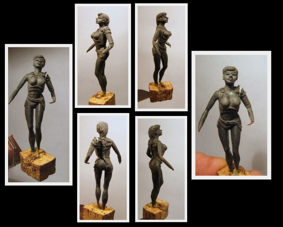 Dragon et Dragoniere (sculpture perso) 42959199xc