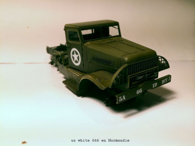 us white 666 cargo truck au 1/35 en Normandie hobby boss 429953white1008