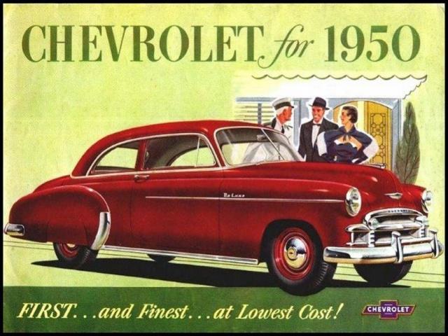 Antique Cars Adverts Revised 4304531950ChevroletBrochure01Large
