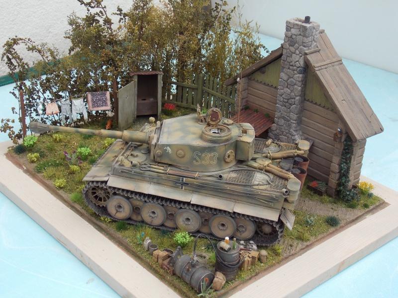 TIGRE S33  avant la bataille de Koursk juillet 43 (Dragon 1/35 dio DIODUMP) - Page 8 432130DSCN4707