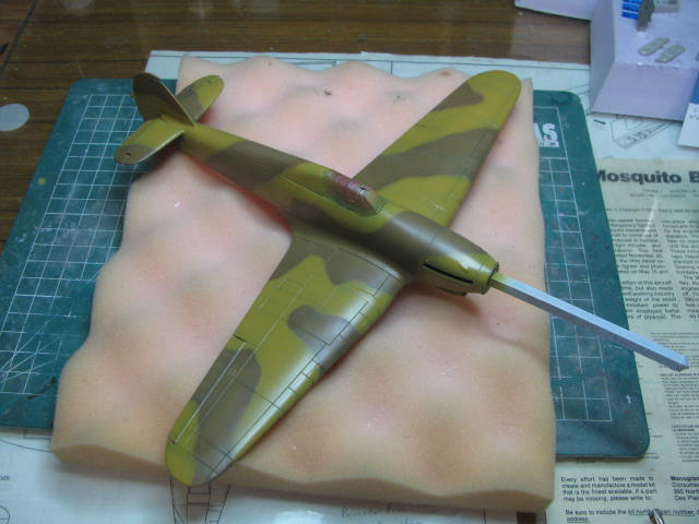 Hawker Hurricane Mk IId Trop 6 Sqn 1942 Hobbycraft 1/48.... Terminé! 432888IMG1122