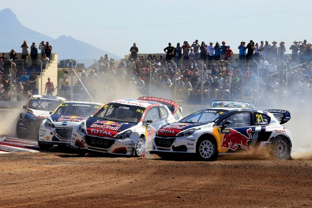 Le Team Peugeot Hansen vice-champion du monde de Rallycross* !!! 438546017170128906