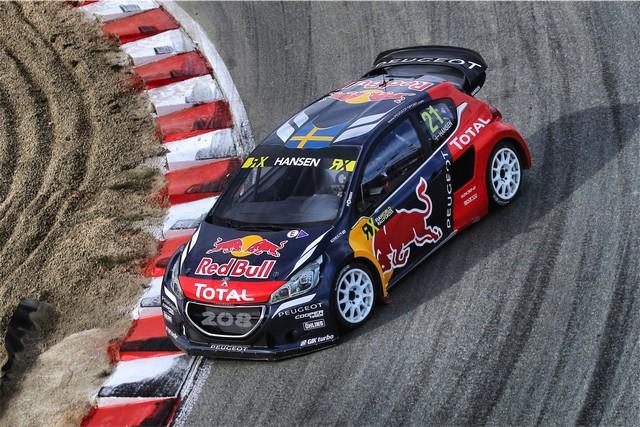 Rallycross - Beau podium de Sébastien Loeb et la PEUGEOT 208 WRX à domicile 43865857cb0bc54ad3a