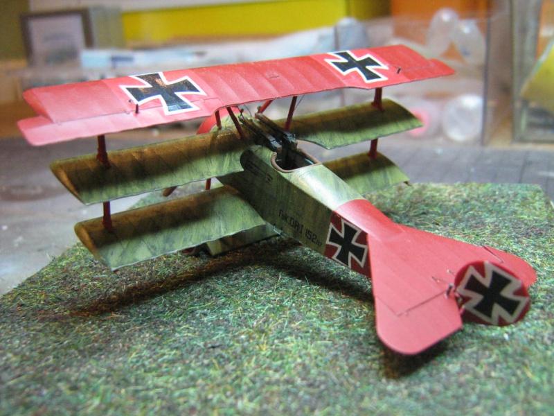[Eduard] Fokker Dr I 152/17 Rittm Manfred von Richthofen Mars 1918 445687IMG0282
