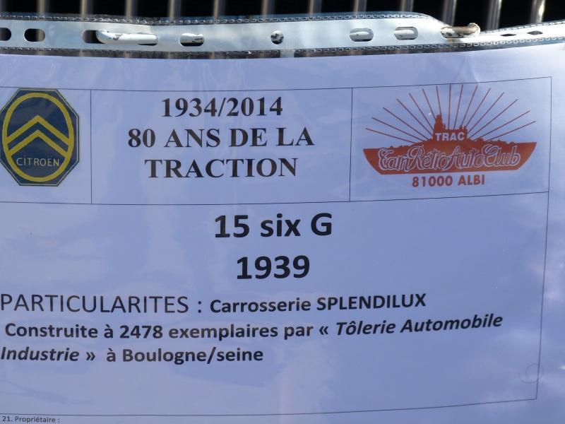 CR : Sortie 13/09/14 pour les 80ans de la Traction Citroen à ALBI (Tarn Retro Auto Club) (pas de MP3) 447320TAV16