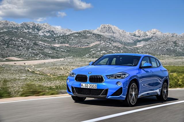 La nouvelle BMW X2 Silhouette élégante, dynamique exceptionnelle 447739P90278924highResthebrandnewbmwx2