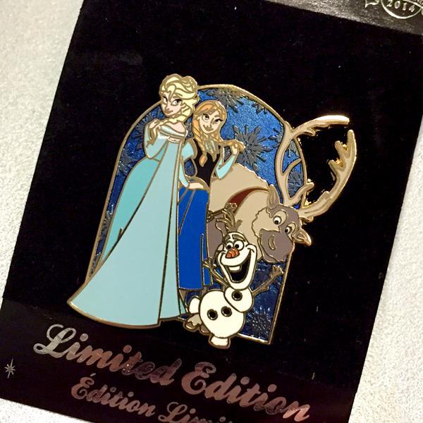 Le Pin Trading à Disneyland Paris - Page 5 450285pinfrozen