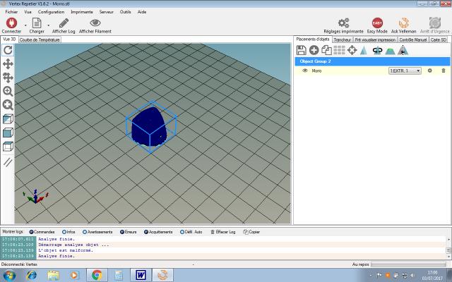 L'impression 3D: présentation du futur du maquettisme!  450638VertexRepetierimportcapot