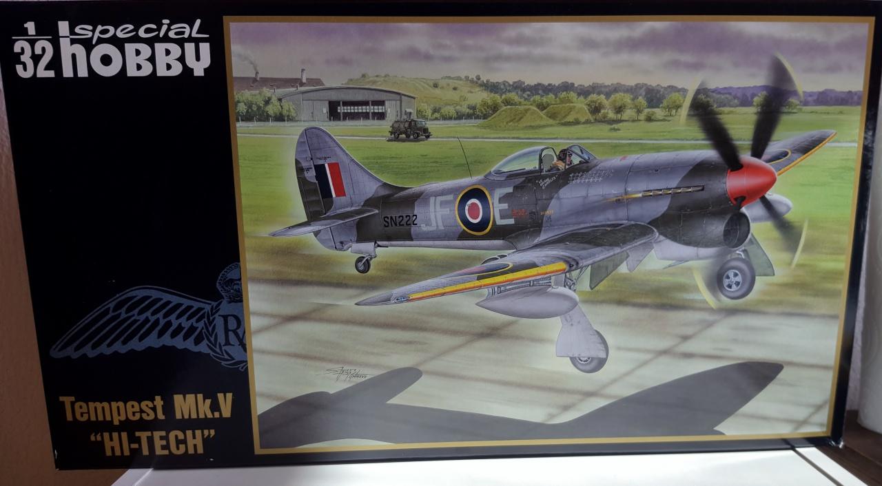 Hawker Tempest Special Hobby au 1/32ème 45277520170807173313
