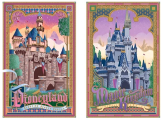 [Disneyland Park] The Disney Gallery - Exposition Crowning Achievements Creating Castles for Magical Kingdoms 453100cas5