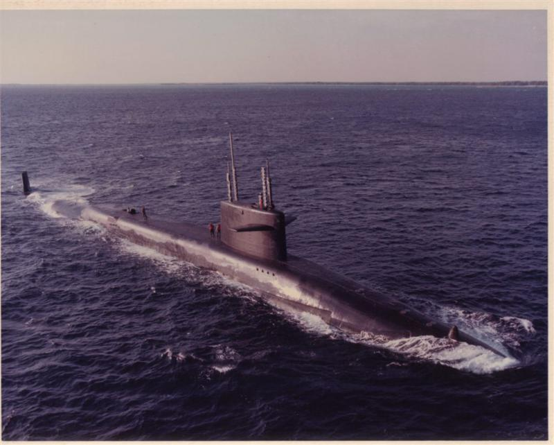 SOUS MARINS NUCLEAIRES LANCEURS D'ENGINS CLASSE OHIO 453288USSNathanHalejpg