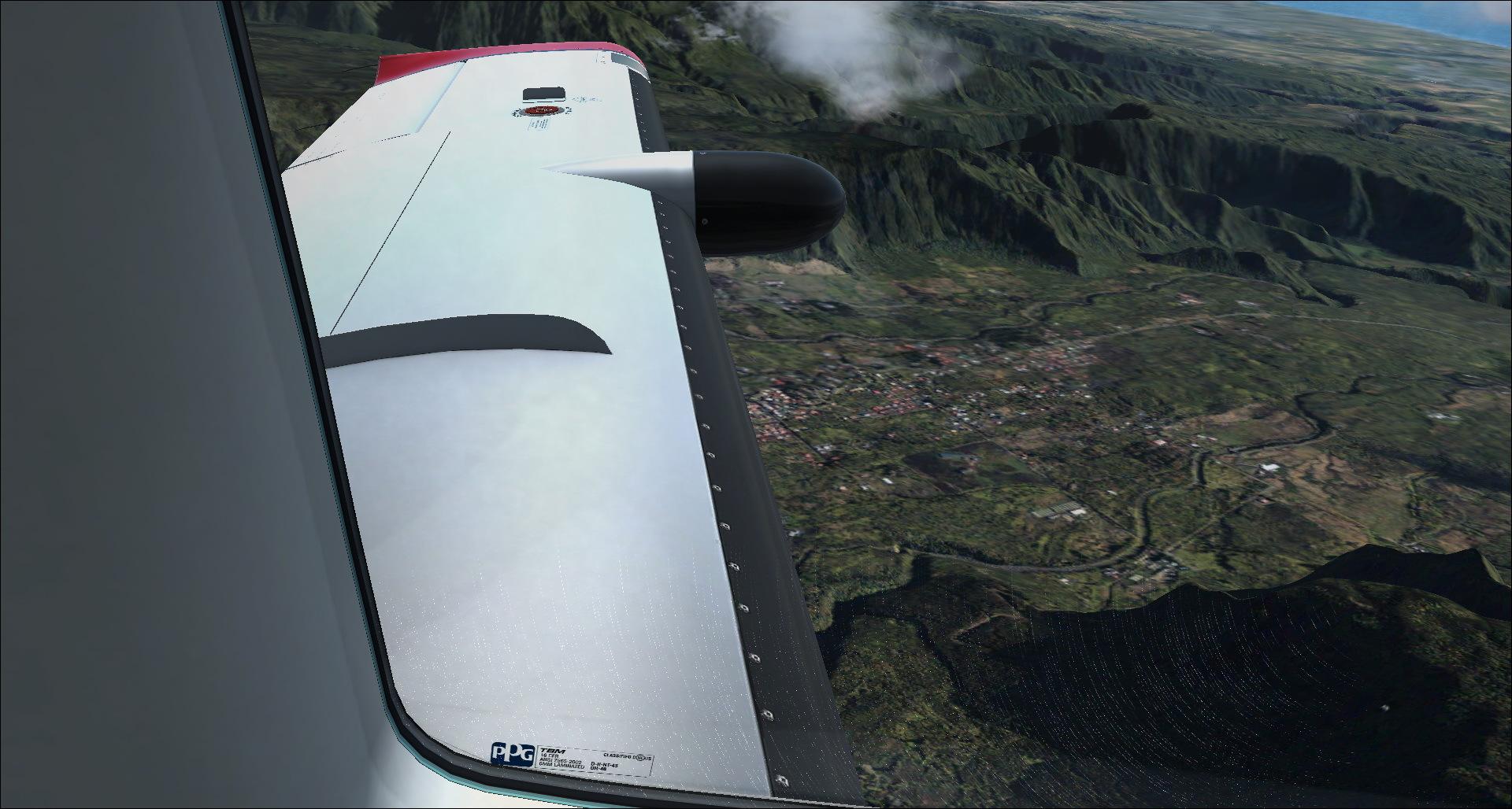 Survol de l'Ile de la Réunion 4542952014829205522222