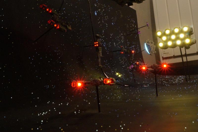STAR WARS : Diorama Flotte rebelle - Page 4 454686DSC00827