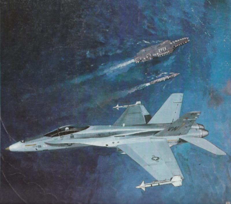 MCDONNELL-DOUGLAS F/A-18 HORNET  455043F_18A_peinture_de_Mitschke