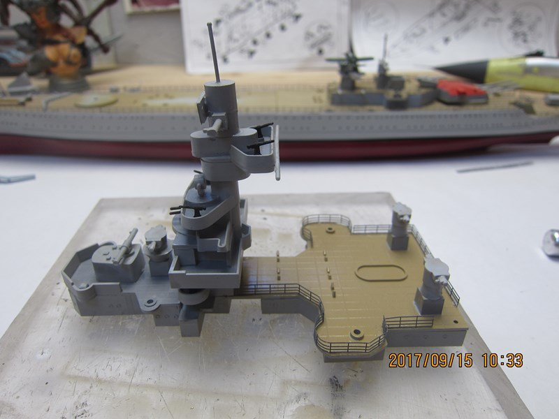 Cuirassé Admiral SCHEER hELLER 1/400 462911IMG4855Copier