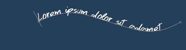 [Apprenti] Texte sur une courbe 463851003