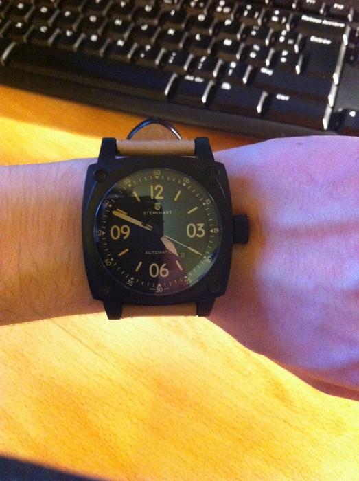 Nouvelle Steinhart Marine Chronograph bronze premium 465170IMG0516