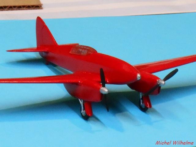 DE HAVILLAND D H88 kit Airfix 1959 466147DSCN9414Copier