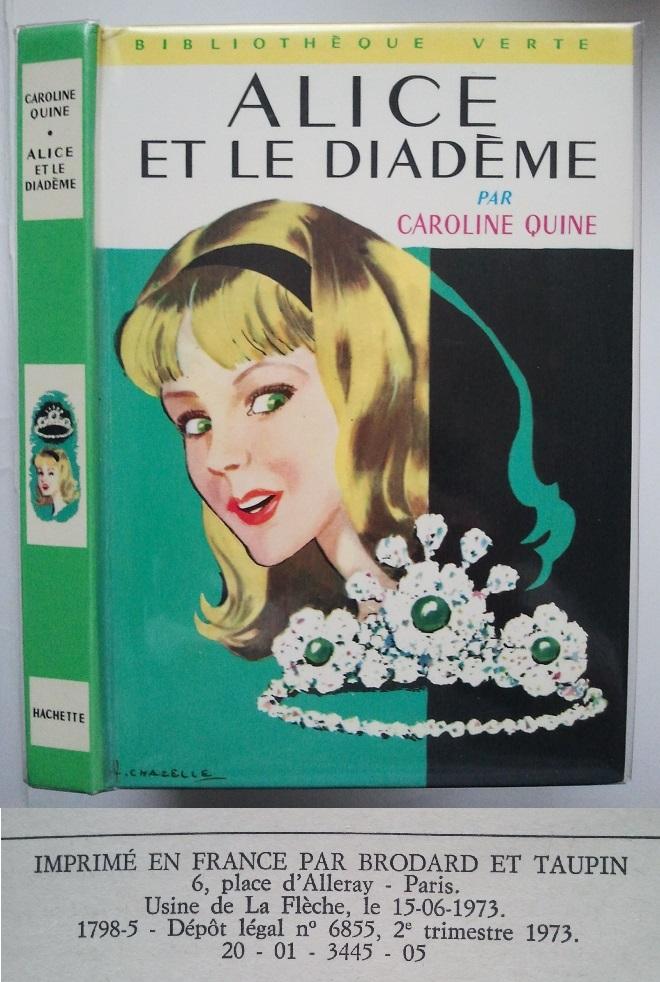 Les anciennes éditions de la série Alice. - Page 5 46767242Diadme2d19732