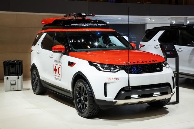Project Hero, une version unique du nouveau Land Rover Discovery pour la Croix Rouge autrichienne  472516lrnewdiscoveryprojecthero0702171