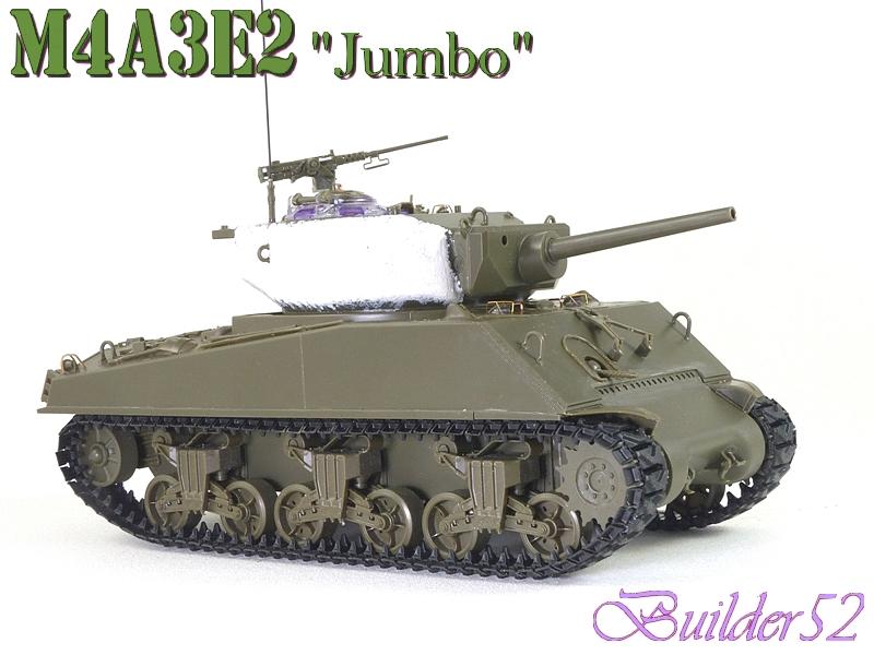 SHERMAN M4A3E2 JUMBO - TASCA 1/35 - Page 2 473410P1050234