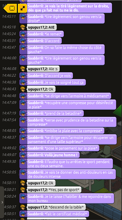 [Saabbrrii] Rapports d'actions RP - Infirmier 475047rpugo2