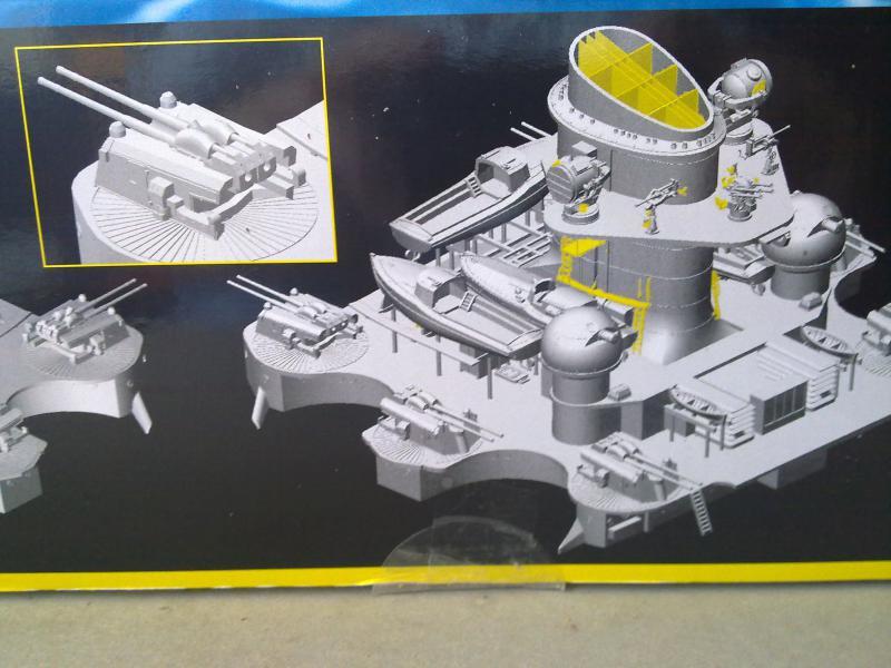 DKM Scharnhorst de  Dragon 1/350° - Page 2 47508811102010815