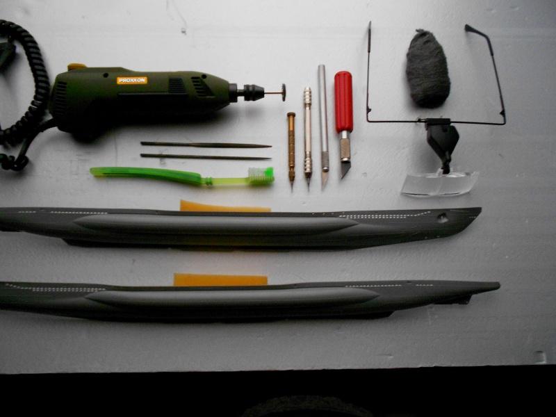 U-Boot type VII D Minenleger     Revell     1/144ème 476978DSCN1467