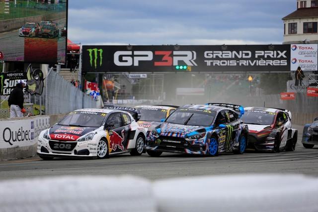 Troisième podium d'affilée pour Sébastien Loeb et la PEUGEOT 208 WRX, au Canada 48194159876401dfae7zoom