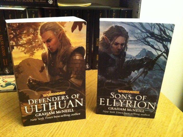 Defenders of Ulthuan / Sons of Ellyrion de Graham McNeill 481983defenders