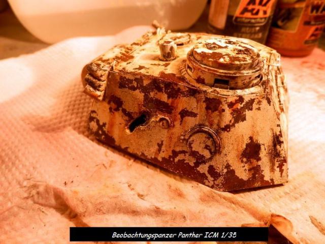 réhabilitation d un Béobachtungspanzer Panther ICM 1/35 483238P4240391