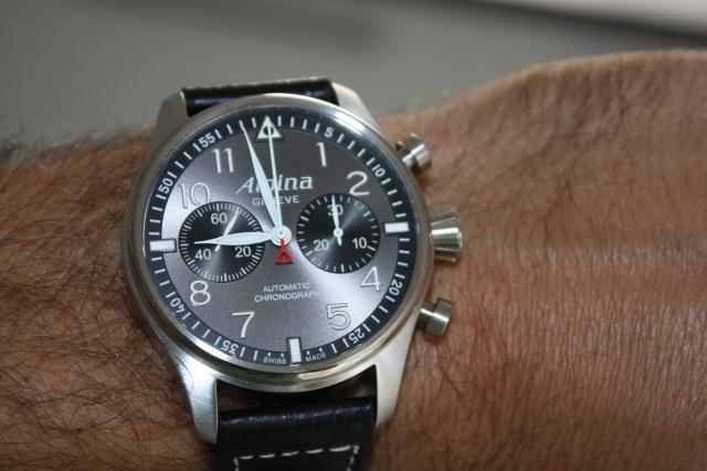 "Alpina - [Revue]Alpina Startimer Pilot Chrono 'sunray"" 485511238"