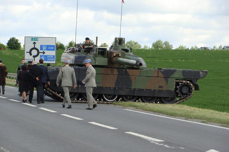 Berry-au-Bac, commémoration officielle du centenaire du premier combat de blindés français 487042DSC06865