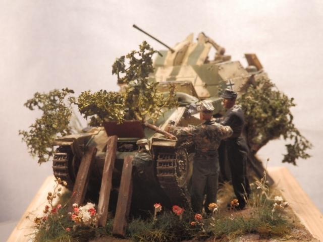 sd.kfz 140 flakpanzer (gépard) maquette Tristar 1/35 - Page 3 488045P8310004
