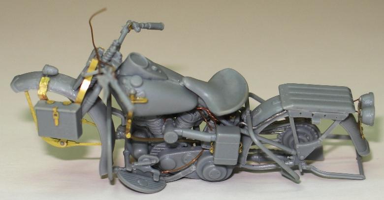 Harley WLA US Army WW2  Miniart 1/35 488272IMG0123