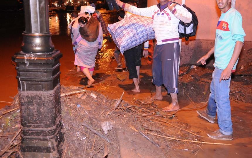 أمطار طوفانية «تضرب» مراكش وتعيد شبح فاجعة «أوريكا» 4886401301142061280644139779071