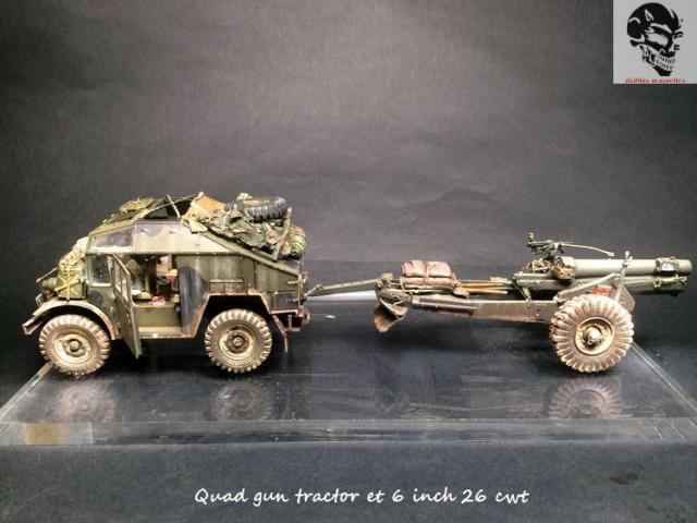 Quad gun tractor et 6 inch 26 CWT en Normandie 1/35 488745IMG4837