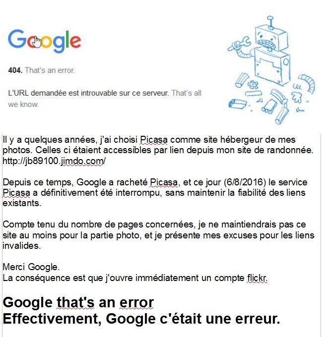 Google that's an error 488807google
