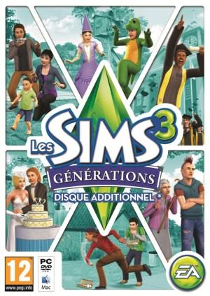 Les Sims™ 3 : Générations 488928jaquette