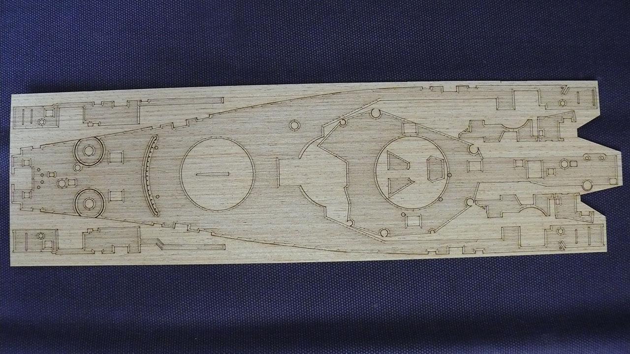 Pont en bois classe IOWA 1/350 Pontos Model 490379wooddeckNewJersey1