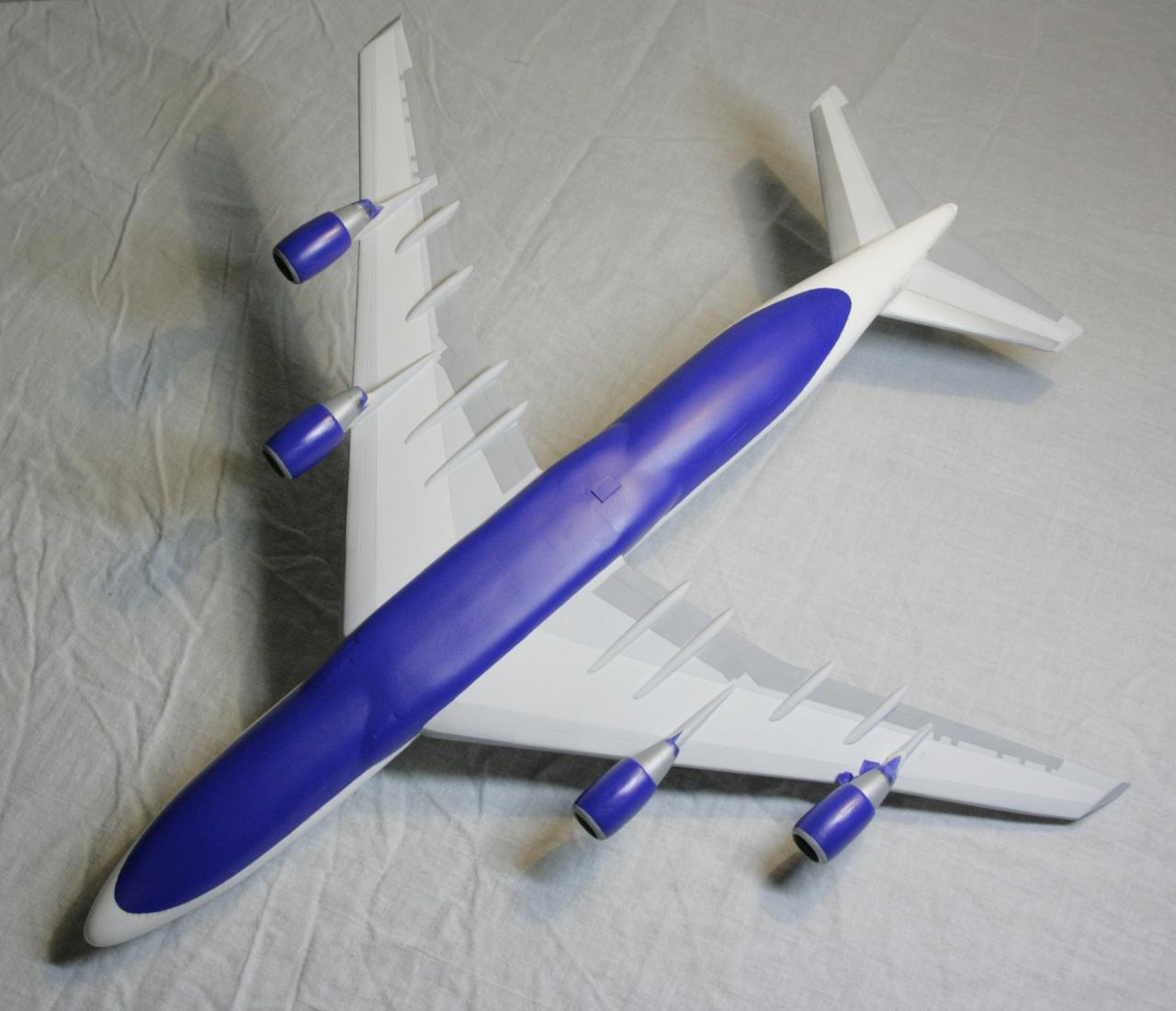 Boeing 747-4F British Airways revell 1/144 490573MG1018